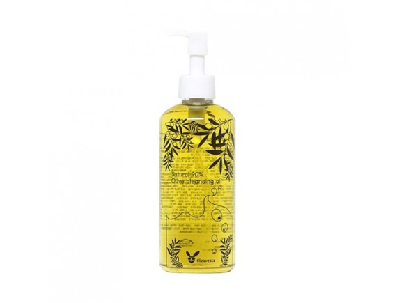 [ELIZAVECCA] Natural 90% Olive Cleansing Oil - 300ml