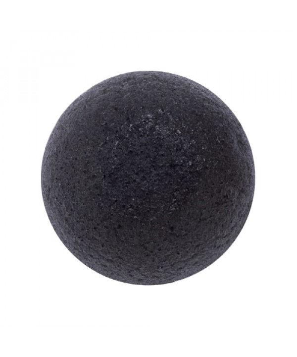 [EONNII] Natural Konjac Soft Cleansing Puff - 1pcs No.Charcoal