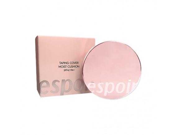 [ESPOIR] Taping Cover Moist Cushion - 1pack (13g+Refill) (SPF42 PA++)
