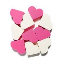 [ETUDE HOUSE] My Beauty Tool Heart Shaped Sponge - 1pack (20pcs)
