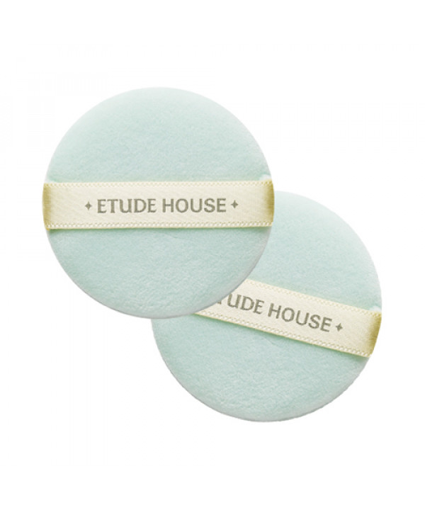 [ETUDE HOUSE] My Beauty Tool Superfine Fiber Powder Puff - 1pack (2pcs)
