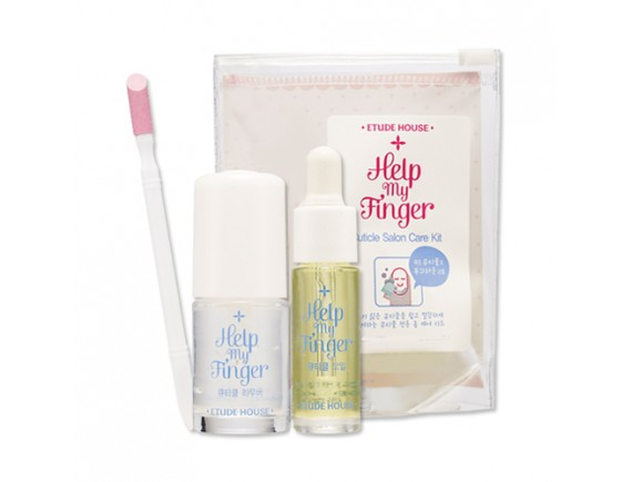 [ETUDE HOUSE] Help My Finger Cuticle Salon Care Kit - 1pack (3item)
