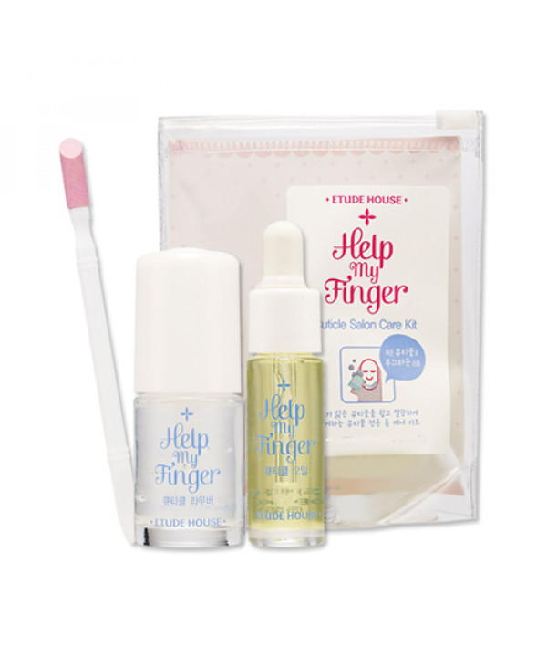 W-[ETUDE HOUSE] Help My Finger Cuticle Salon Care Kit - 1pack (3item) x 10ea