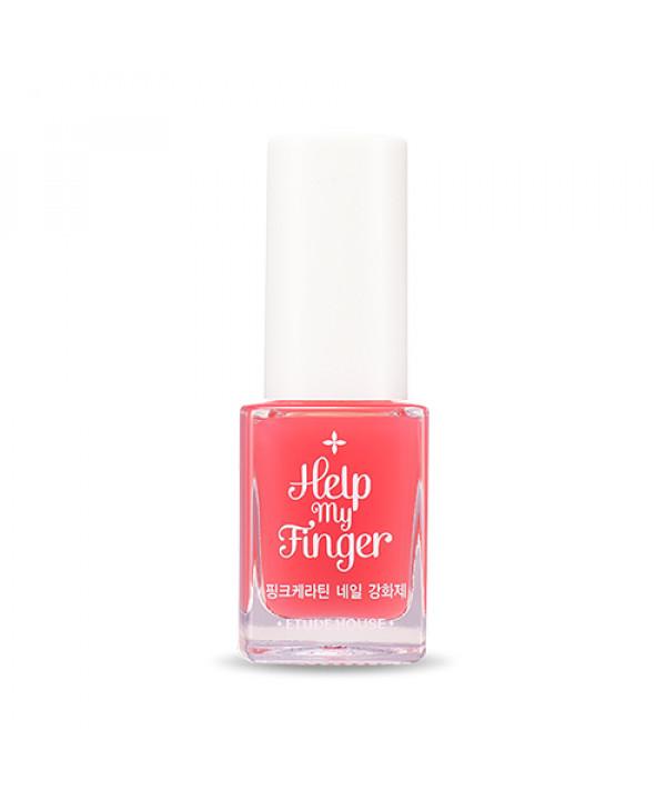 W-[ETUDE HOUSE] Help My Finger Pink Keratin Nail Strengthener - 10ml x 10ea