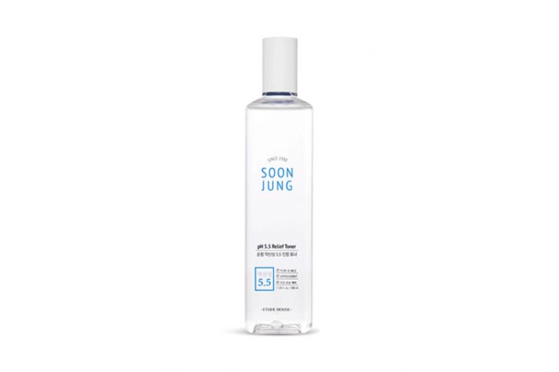 [ETUDE HOUSE] Soonjung pH 5.5 Relief Toner (Jumbo Size) - 350ml