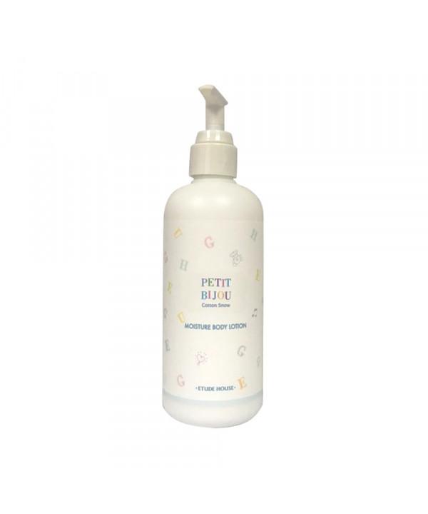 W-[ETUDE HOUSE] Petit Bijou Cotton Snow Moisture Body Lotion - 300ml x 10ea