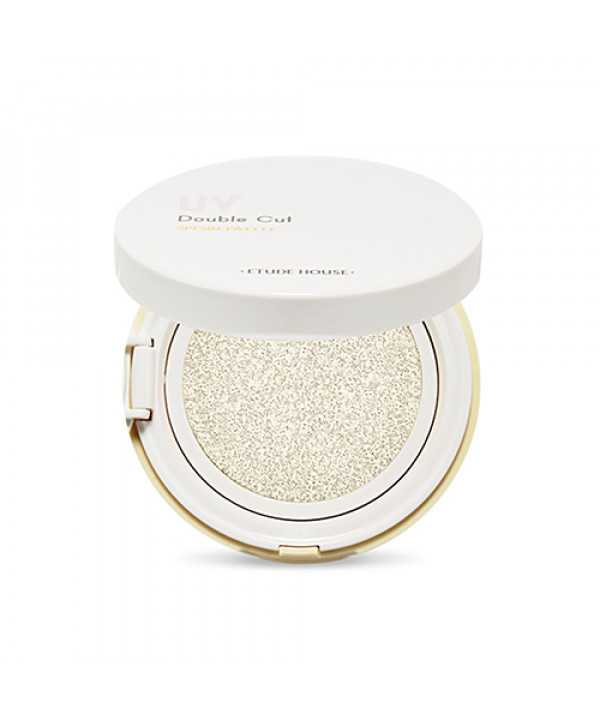 W-[ETUDE HOUSE] UV Double Cut Clear Sun Cushion - 13g (SPF50+ PA++++) x 10ea