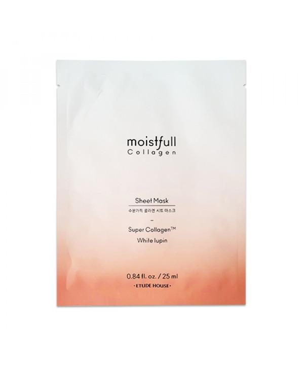 [ETUDE HOUSE] Moistfull Collagen Facial Mask Sheet - 1pcs (2019)