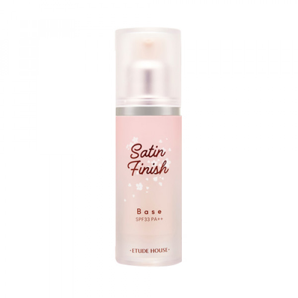 W-[ETUDE HOUSE] Satin Finish Base Pink (Heart Blossom Edtion) - 30g (SPF33 PA++) x 10ea