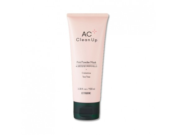[ETUDE HOUSE] AC Clean Up Pink Powder Mask - 100ml