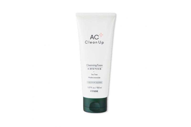W-[ETUDE HOUSE] AC Clean Up Cleansing Foam - 150ml x 10ea