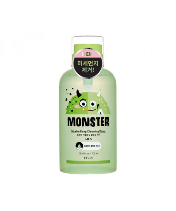 [ETUDE HOUSE] Monster Micellar Deep Cleansing Water (Jumbo Size) - 700ml