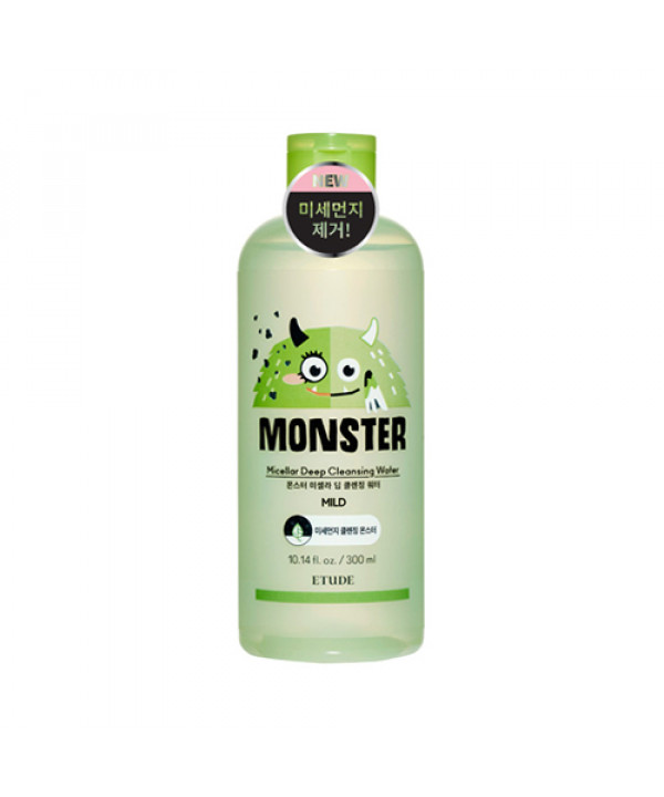 [ETUDE HOUSE] Monster Micellar Deep Cleansing Water - 300ml