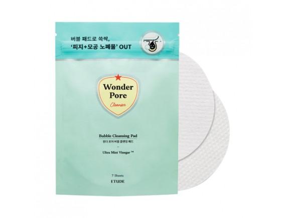 [ETUDE HOUSE] Wonder Pore Bubble Cleansing Pad (2020) - 1pack (7pcs) x 3