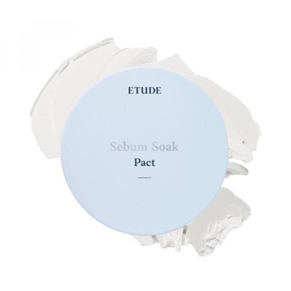 W-[ETUDE HOUSE] Sebum Soak Pact - 9.5g x 10ea