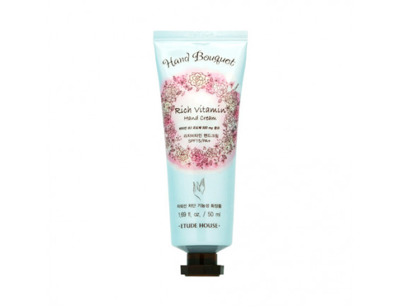 [ETUDE HOUSE] Hand Bouquet Rich Vitamin Hand Cream (2020) - 50ml