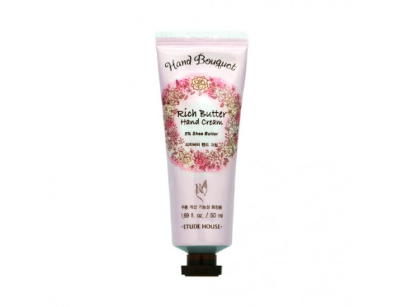 [ETUDE HOUSE] Hand Bouquet Rich Butter Hand Cream (2020) - 50ml