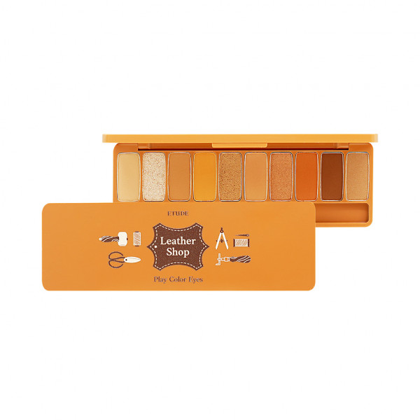[ETUDE HOUSE] Play Color Eyes Leather Shop - 8g