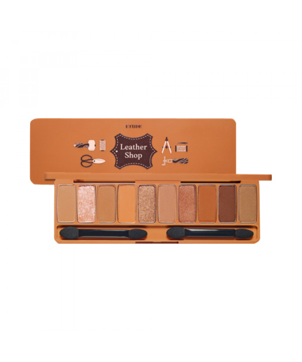 W-[ETUDE HOUSE] Play Color Eyes Leather Shop - 8g x 10ea