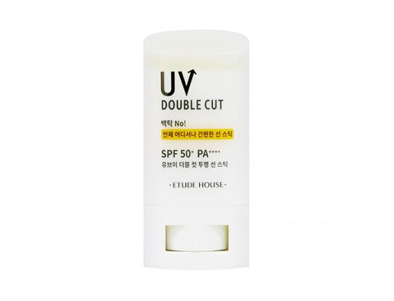 [ETUDE HOUSE] UV Double Cut Clear Sun Stick (2020) - 19g (SPF50+ PA++++)