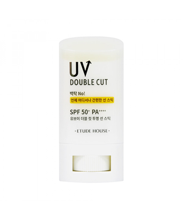 [ETUDE HOUSE] UV Double Cut Clear Sun Stick (2020) - 19g (SPF50+ PA++++)