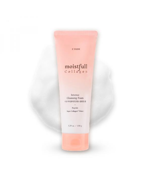 W-[ETUDE HOUSE] Moistrull Collagen Intense Cleansing Foam - 150g x 10ea