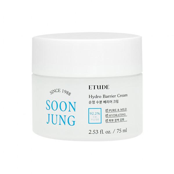 W-[ETUDE HOUSE] Soonjung Hydro Barrier Cream (2021) - 75ml x 10ea