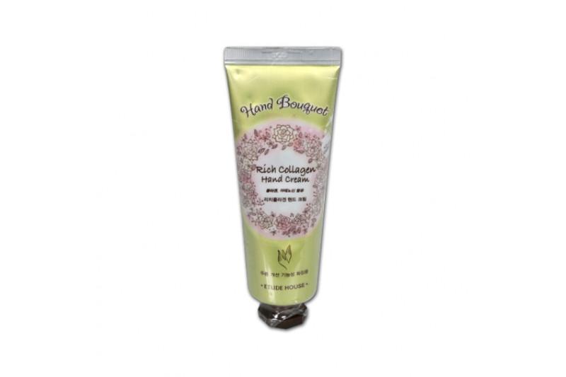 W-[ETUDE HOUSE] Hand Bouquet Rich Collagen Hand Cream - 50ml x 10ea