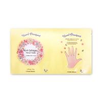 W-[ETUDE HOUSE] Hand Bouquet Rich Collagen Hand Mask Sheet - 1pcs x 10ea