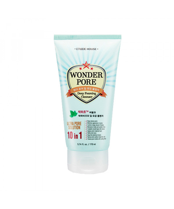 [ETUDE HOUSE_45% SALE] Wonder Pore Deep Foaming Cleanser - 170ml (Before renewal)