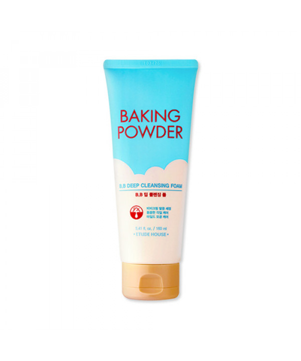 [ETUDE HOUSE] Baking Powder BB Deep Cleansing Foam - 160ml (new)