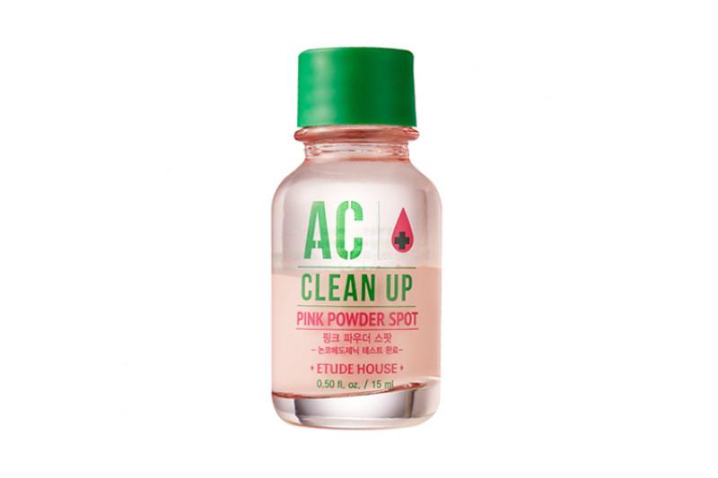 [ETUDE HOUSE] AC Clean Up Pink Powder Spot - 15ml