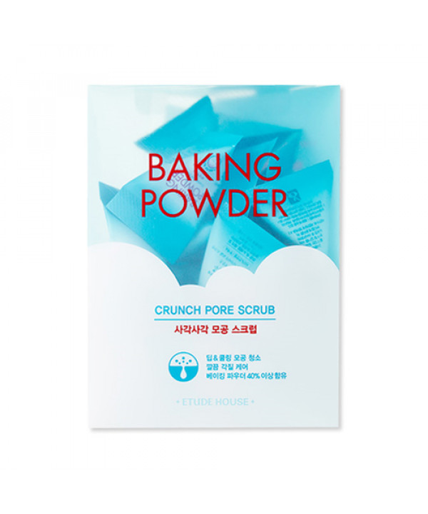[ETUDE HOUSE] Baking Powder Crunch Pore Scrub - 1pack (7g x 24ea)
