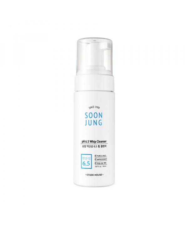 [ETUDE HOUSE] Soon Jung PH 6.5 Whip Cleanser - 150ml