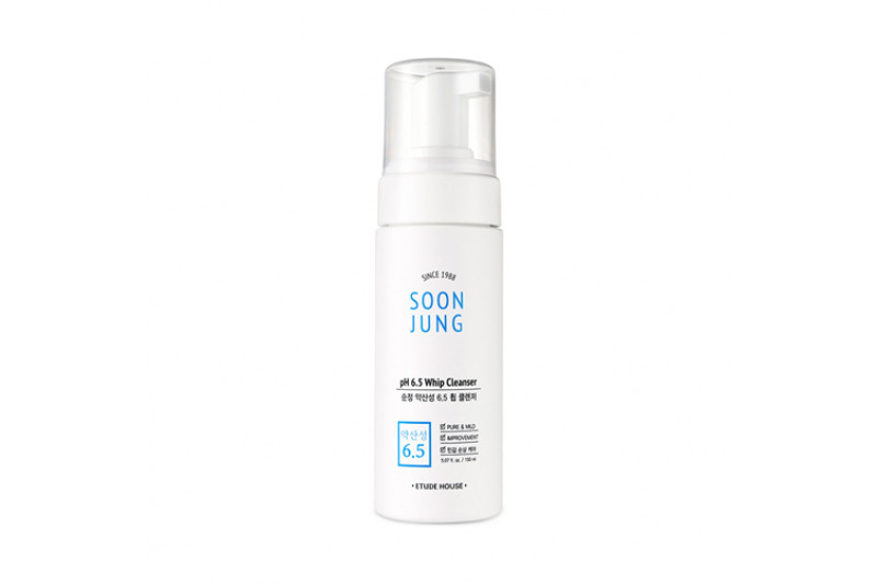 [ETUDE HOUSE] Soon Jung PH 6.5 Whip Cleanser - 150ml