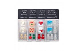 [ETUDE HOUSE] Dashing Diva Magic Press Pedicure (Super Slim Fit) - 1pack (4items)