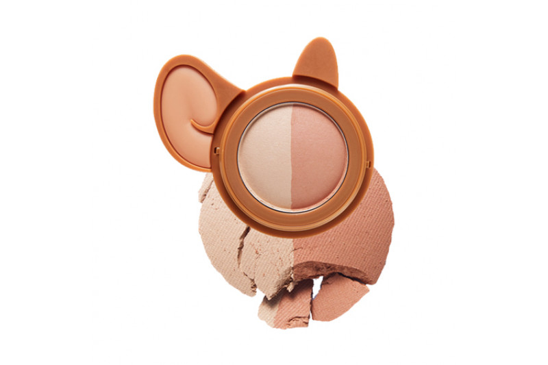 [ETUDE HOUSE] Lucky Together Two Tone Cheek Dome - 3g