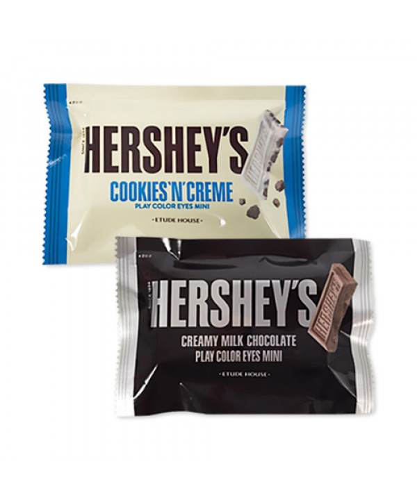[ETUDE HOUSE_LIMITED] Play Color Eyes Mini Hershey - 4.8g#Cookies N Cream (No Case Box)