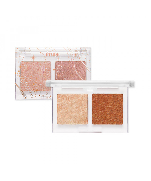 [ETUDE HOUSE] Glittery Snow Air Mousse Palette - 3g