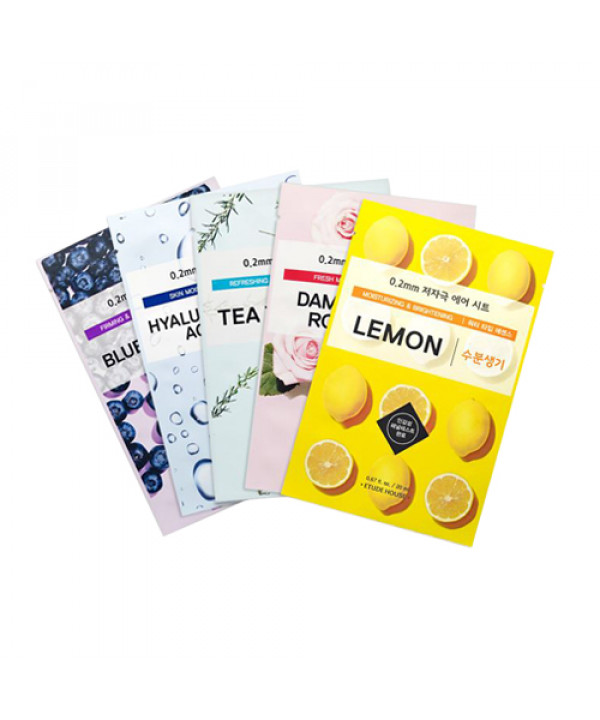 W-[ETUDE HOUSE] 0.2 Therapy Air Mask - 1pcs x 10ea
