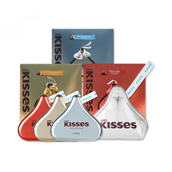 [ETUDE HOUSE] Play Color Eyes Hersheys Kisses Pouch Kit - 1pack (2items)