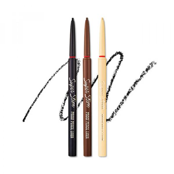 W-[ETUDE HOUSE] Super Slim Proof Pencil Liner - 0.08g x 10ea