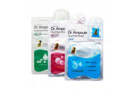W-[ETUDE HOUSE] Dr. Ampoule Dual Mask Sheet - 1pcs x 10ea