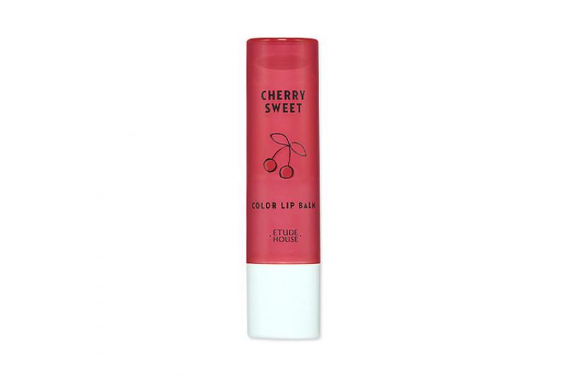 [ETUDE HOUSE] Sweet Color Lip Balm Cherry - 4g