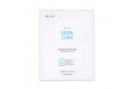 [ETUDE HOUSE_Sample] Soon Jung Panthensoside Sheet Mask Samples - 3pcs