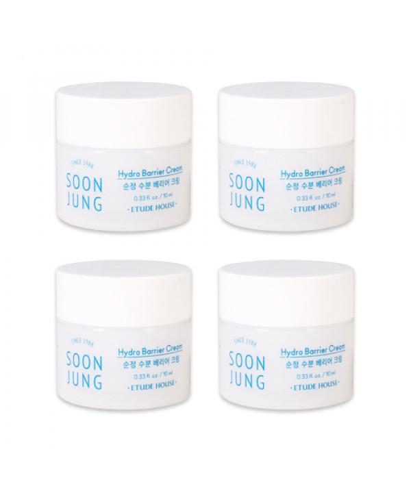 [ETUDE HOUSE_Sample] Soon Jung Hydro Barrier Cream Samples - 10ml x 4ea