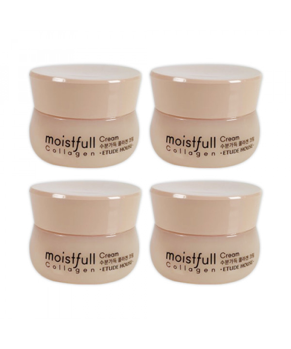 [ETUDE HOUSE_Sample] Moistfull Collagen Cream Samples - 10ml x 4ea