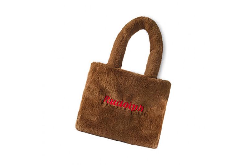 [ETUDE HOUSE_Sample] Rudolph Fur Tote Bag Sample - 1pcs