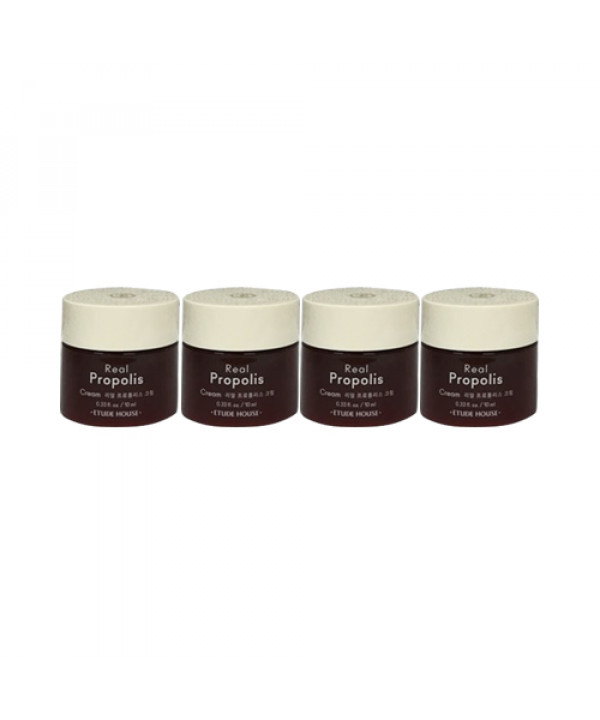 [ETUDE HOUSE_Sample] Real Propolis Cream Sample - 4ea