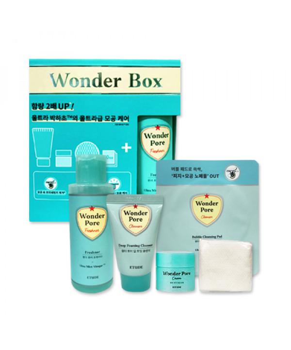 [ETUDE HOUSE_Sample] Wonder Pore 4 Step Trial Kit Sample - 1pack (5items)